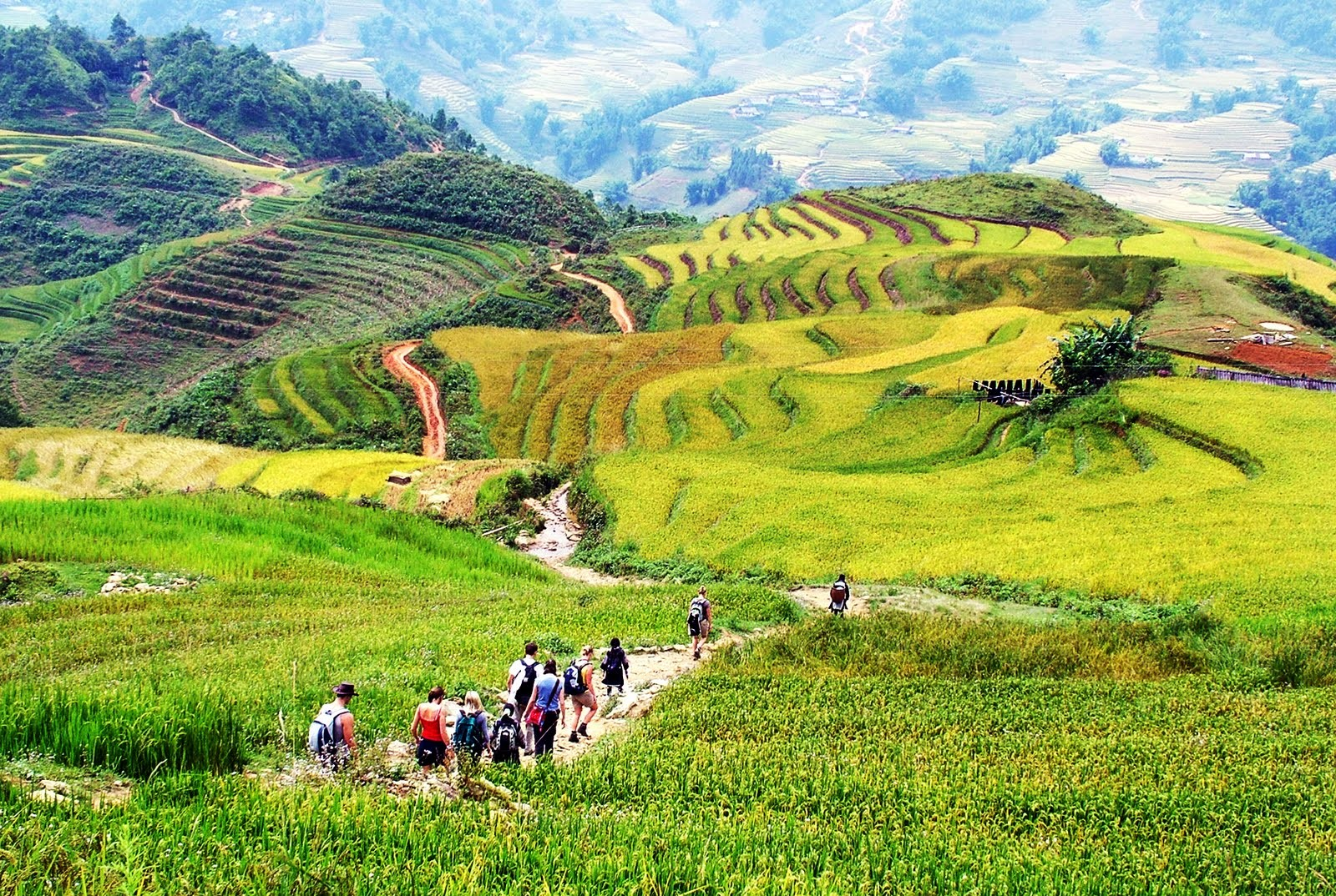 SAPA TREKKING TOURS BY BUS