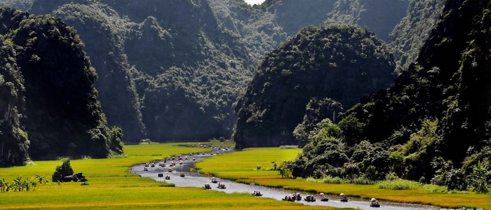 Ha Noi - Hoa Lu - Tam Coc - Ninh Binh - Ha Long Bay - Ha Noi 2 Days - 1 Night Tour