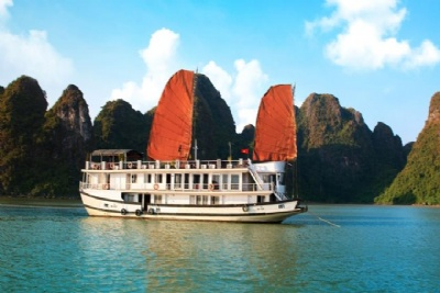 HA LONG BAY 2 DAYS - 1 NIGHT SLEEP ON THE 3 STAR BOAT