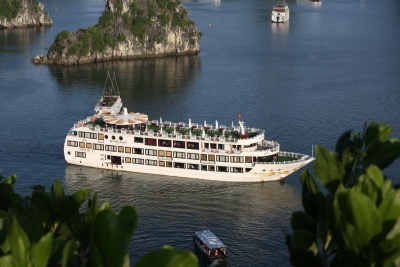 LUXURY  BAI TU LONG BAY  2 DAYS - 1 NIGHT TOUR SLEEP ON 5 STAR CRUISE