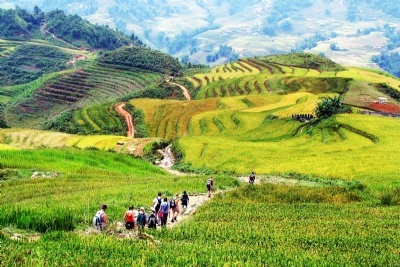 SAPA TREKKING 3 DAYS - 4 NIGHTS  BY NIGHT BUS
