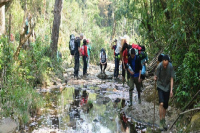 FANSIPAN CLIMBING - SAPA TREKKING 3 DAYS - 4 NIGHTS BY SLEEPING BUS