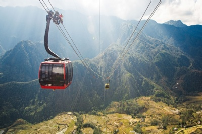 SAPA - FANSIPAN - CABLE CAR  3 DAYS - 4 NIGHTS  BY NIGHT TRAIN