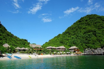 HA NOI - CAT BA ISLAND - LAN HA BAY - MONKEY ISLAND BUNGALOW 2 DAYS 1 NIGHT TOUR