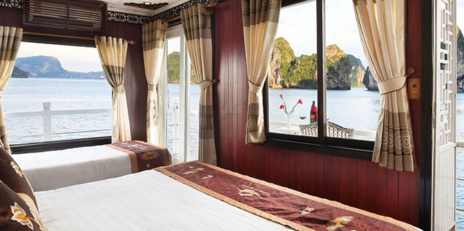 HA LONG BAY 2 DAYS - 1 NIGHT SLEEP ON THE 3 STAR BOAT 13