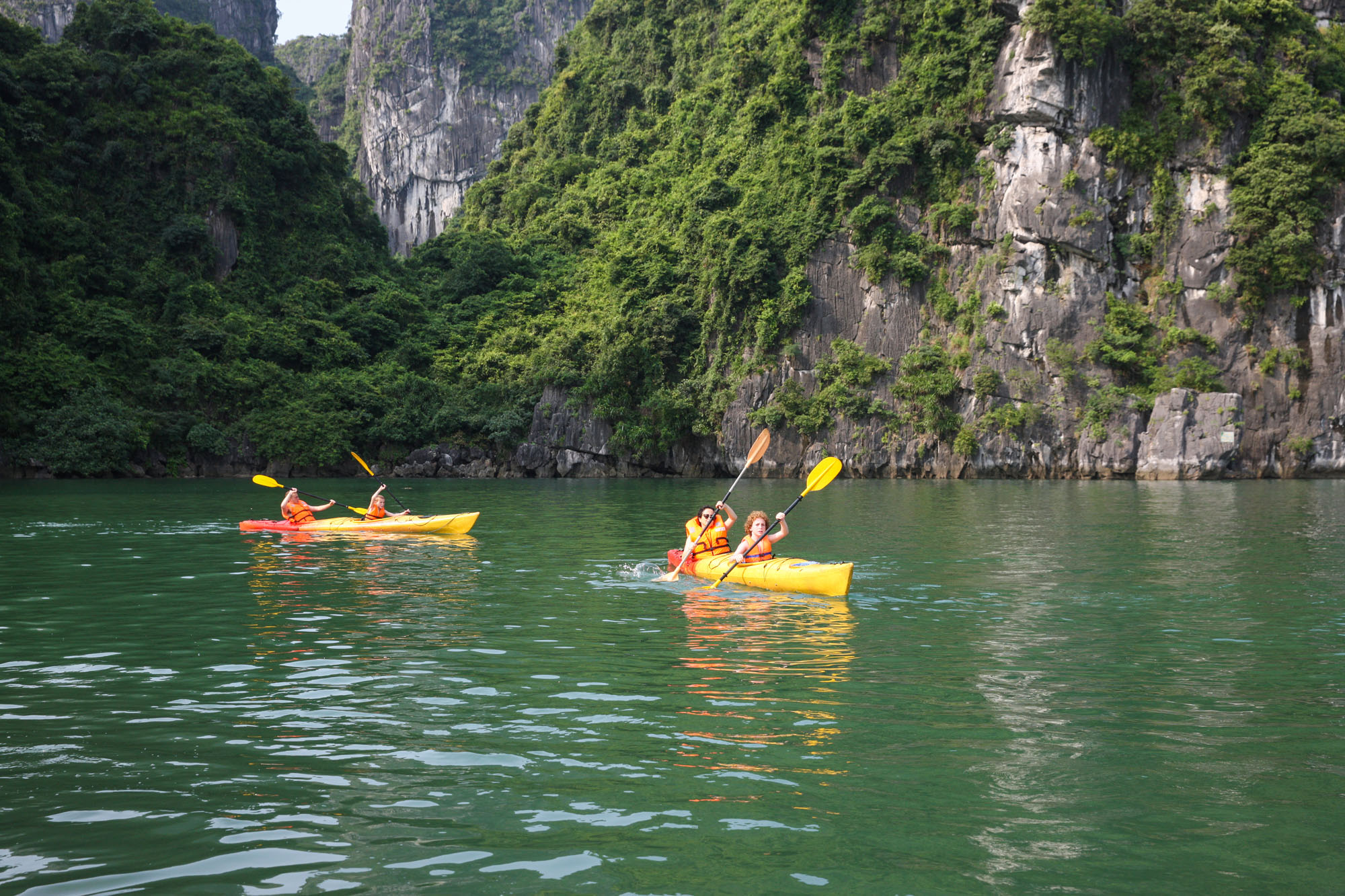 HA LONG BAY 2 DAYS - 1 NIGHT SLEEP ON THE 3 STAR BOAT 17