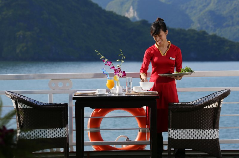 LUXURY  BAI TU LONG BAY  2 DAYS - 1 NIGHT TOUR SLEEP ON 5 STAR CRUISE 14