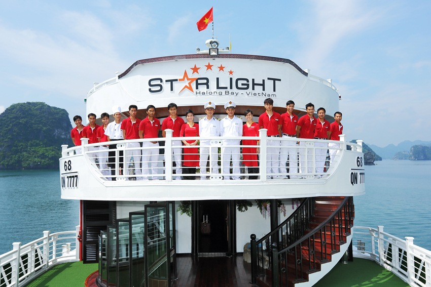 LUXURY  BAI TU LONG BAY  2 DAYS - 1 NIGHT TOUR SLEEP ON 5 STAR CRUISE 6