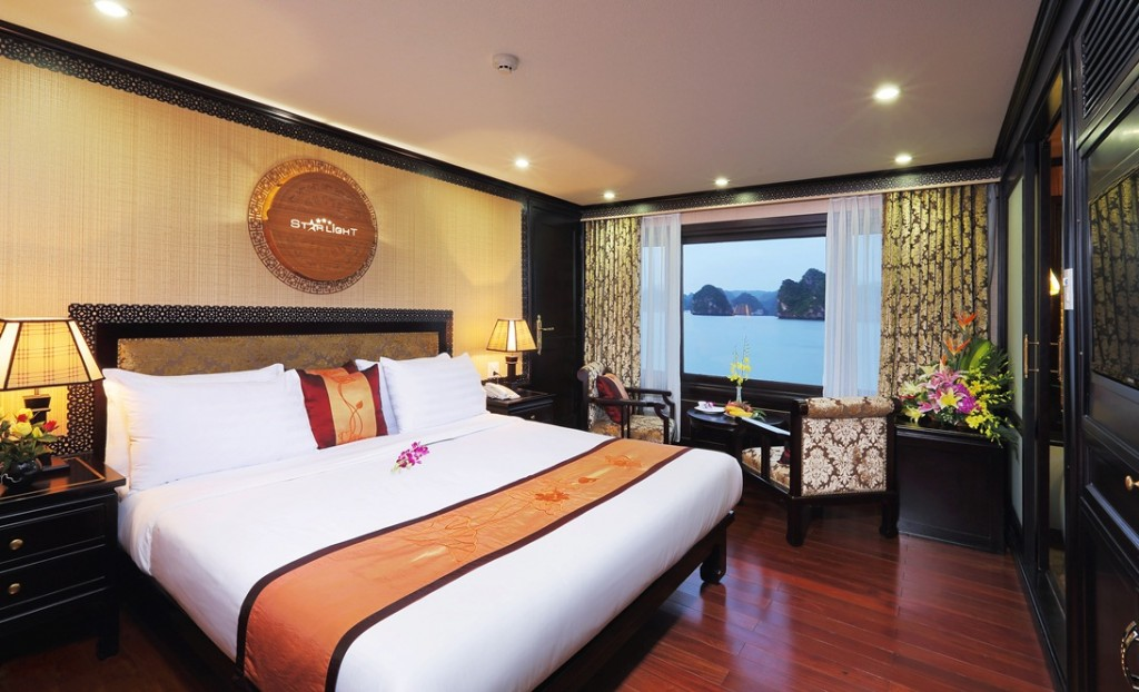 LUXURY  BAI TU LONG BAY  2 DAYS - 1 NIGHT TOUR SLEEP ON 5 STAR CRUISE 10