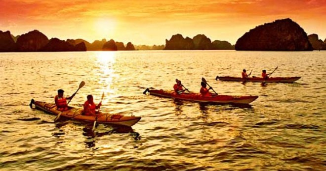 LUXURY  BAI TU LONG BAY  2 DAYS - 1 NIGHT TOUR SLEEP ON 5 STAR CRUISE 20
